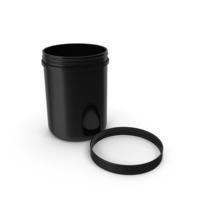 60oz Plastic Wide Mouth Jar PNG & PSD Images