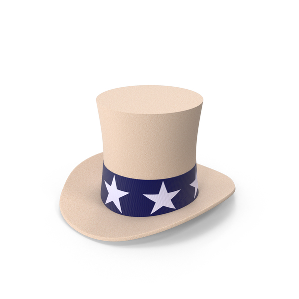 Stovepipe Hat Uncle Sam PNG & PSD Images
