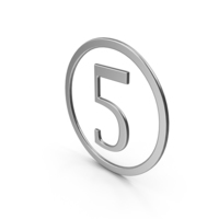 Number Five In Ring PNG & PSD Images