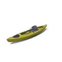 Kayak Yellow PNG & PSD Images