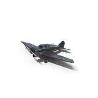 Retro Civil Plane PNG & PSD Images