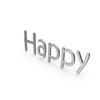 Word Happy PNG & PSD Images