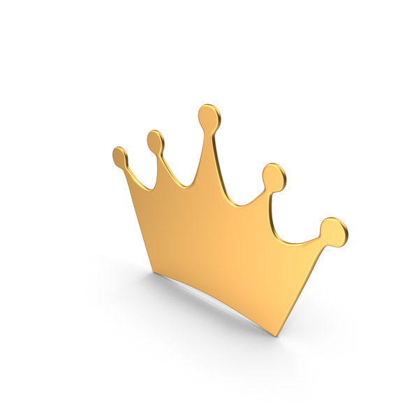 Crown Symbol Gold PNG & PSD Images