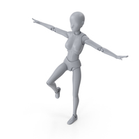 Mannequin Female Balance PNG & PSD Images
