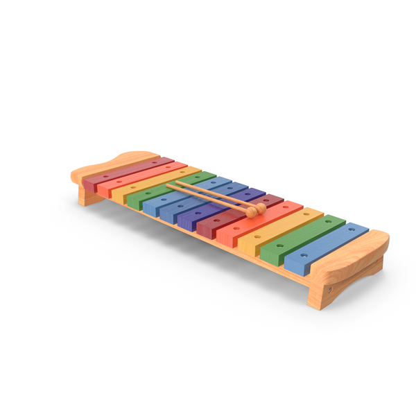 Xylophone Percussion Musical Toy PNG & PSD Images