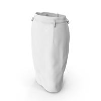 Skirt White PNG & PSD Images