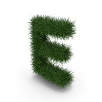 Grass Letter E PNG & PSD Images
