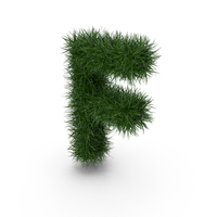 Grass Letter F PNG & PSD Images