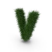 Grass Letter V PNG & PSD Images