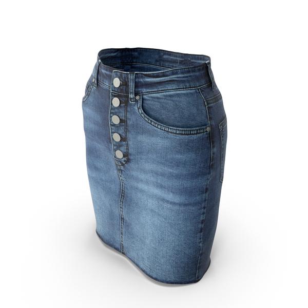 Skirt Dark Blue PNG & PSD Images