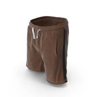 Men's Shorts Brown PNG & PSD Images