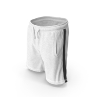 Men's Shorts White PNG & PSD Images