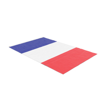 Flag Laying Pose France PNG & PSD Images