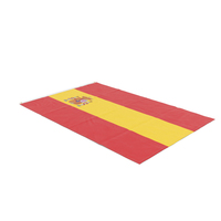 Flag Laying Pose Spain PNG & PSD Images