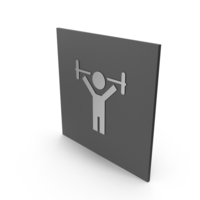 Fitness Room Sign PNG & PSD Images