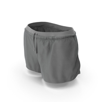 Women's Sport Shorts Gray PNG & PSD Images