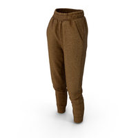 Women's Pants Brown PNG & PSD Images