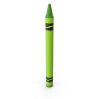 Crayon Green PNG & PSD Images