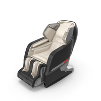 Cream Massage Chair PNG & PSD Images