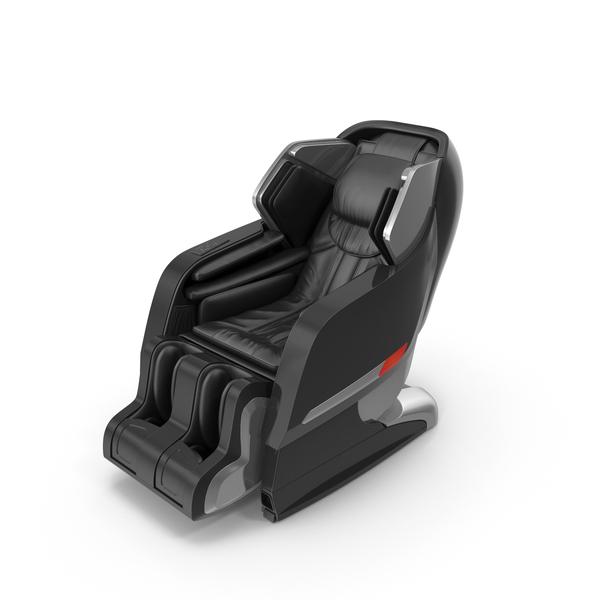 Black Massage Chair PNG & PSD Images