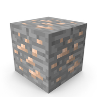 Minecraft Iron Ore PNG & PSD Images
