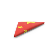 Folded Chinese Flag PNG & PSD Images