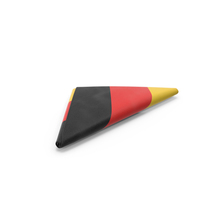 Flag Folded Triangle Germany PNG & PSD Images