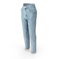 Women's Jeans Light Blue PNG & PSD Images