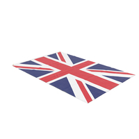 Flag Laying Pose United Kingdom PNG & PSD Images