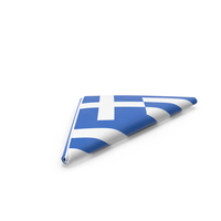 Flag Folded Triangle Greece PNG & PSD Images