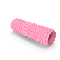 Yoga Massage Foam Roller Pink PNG & PSD Images