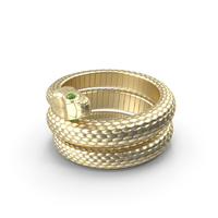 Snake Ring Gold PNG & PSD Images