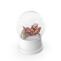 Snow Globe with Santa Claus PNG & PSD Images