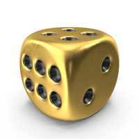Gold Die PNG & PSD Images