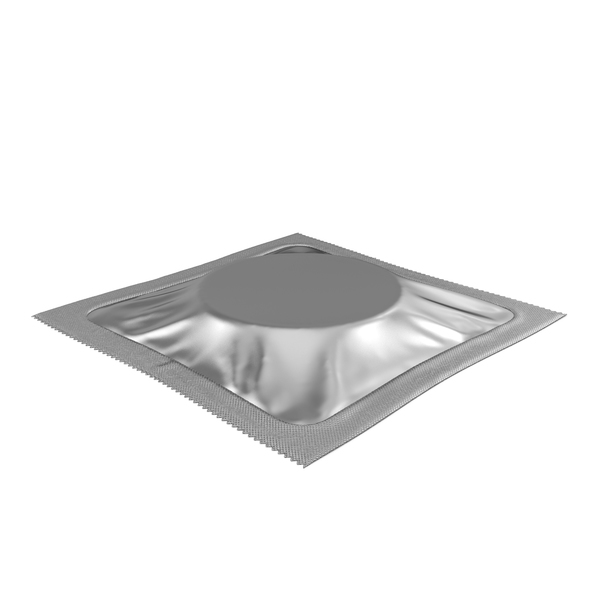 Square Condom Packaging PNG & PSD Images