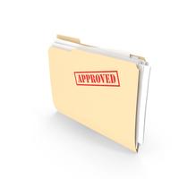 Approved Folder Vertical PNG & PSD Images