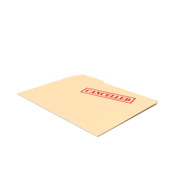 Cancelled Folder Empty PNG & PSD Images