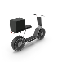 Delivery Scooter PNG & PSD Images