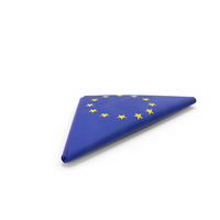 Flag Folded Triangle EU PNG & PSD Images