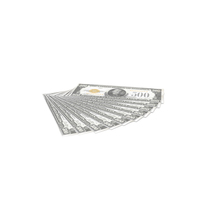 US 500 Dollar Bill PNG & PSD Images