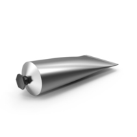 Metallic Cosmetic Tube PNG & PSD Images