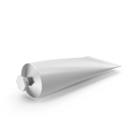 White Cosmetic Tube PNG & PSD Images