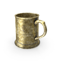 Rusted Pewter Mug PNG & PSD Images