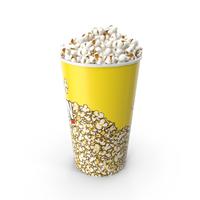 Medium Popcorn Bucket PNG & PSD Images
