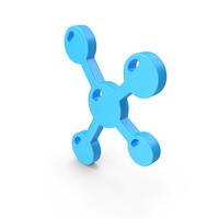 Molecule Web Icon PNG & PSD Images