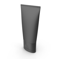 Black Cosmetic Tube PNG & PSD Images