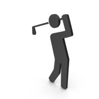 Sport Golf Icon PNG & PSD Images