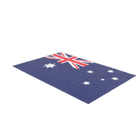 Flag Laying Pose Australia PNG & PSD Images