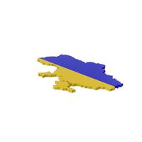 Ukraine Contour Map PNG & PSD Images