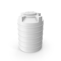 Plastic Storage Tank White PNG & PSD Images